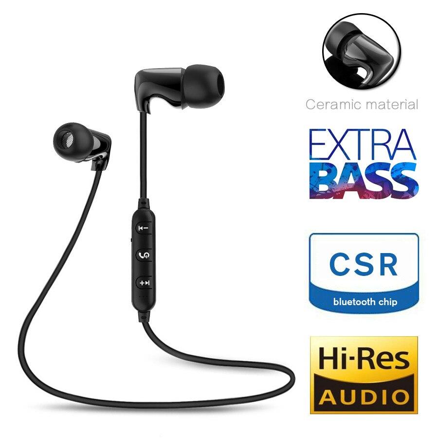 TC керамические спортивные Bluetooth наушники беспроводные наушники стерео водонепроницаемые Hi-Fi стерео бас Музыка гарнитура с микрофоном