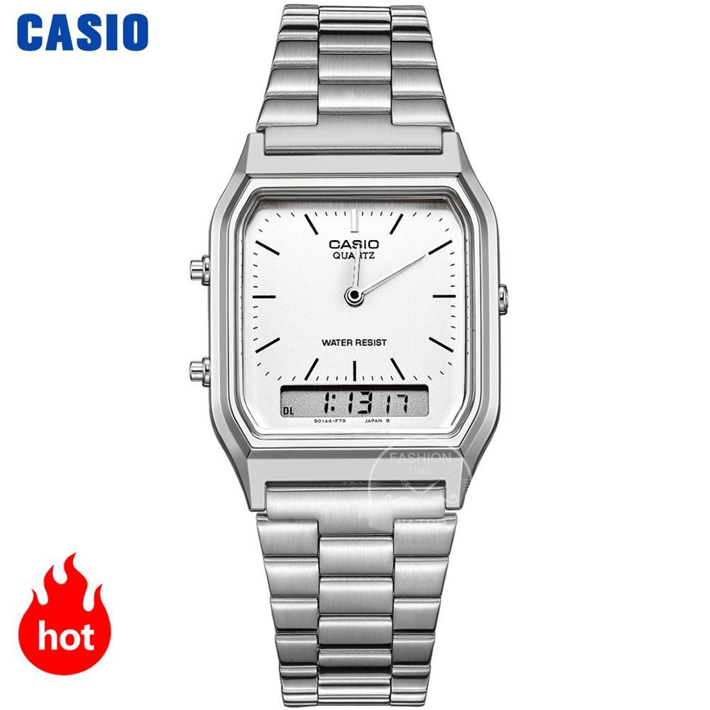 Casio watch gold watch men top brand luxury Dual display Waterproof Quartz men watch Sport military WristWatch relogio masculino|Quartz Watches| - AliExpress