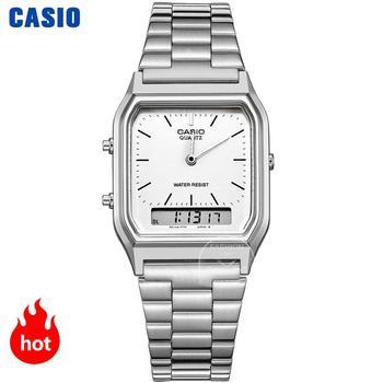 Casio montre en or montre hommes top marque de luxe Double affichage étanche Quartz numérique hommes regardent Sport militaire montre-bracelet relogio masculino reloj hombre erkek kol saati zegarek meski AQ-230
