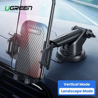 Ugreen Car Phone Holder Stand for Your Mobile Smartphone Support in Car Cell Phone Holder No Magnetic Suction Cup Clip Stand