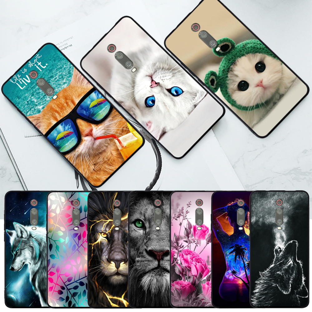 Phone Case For Xiaomi Mi 9T Case Silicone 6.39\