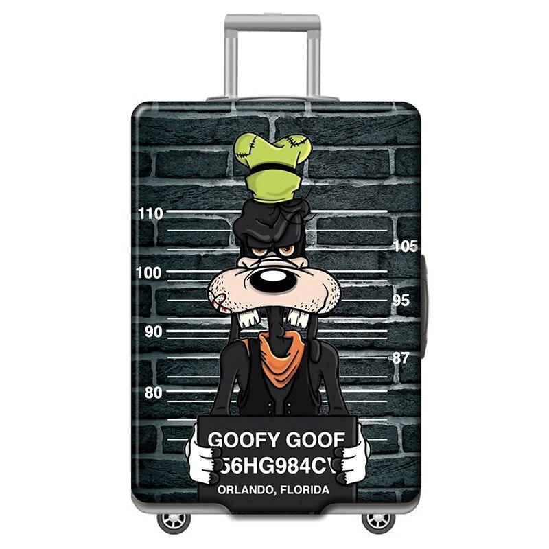 HMUNII карта мира, дизайнерский защитный чехол для багажа, Дорожный Чехол для чемодана, эластичные пылезащитные Чехлы для 18-32 дюймов, аксессуары для путешествий - Цвет: O-Luggage cover