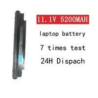 A HSW 11.1V bateria para Dell Inspiron Vostro N311z N411z V131 V131D V131R 268X5 312 1257 312 1258 H2XW1 H7XW1 JD41Y N2DN5 bateria|Baterias p/ laptop|Computador e Escritório -
