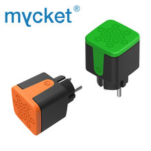 Tuya Outdoor Smart Plug WiFi EU Standard New Socket Timing Energy Monitor Smart Life APP Control Works With Alexa Google Home