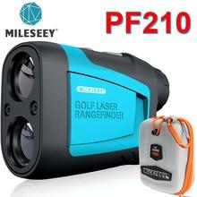 Mileseey PF210 600 متر Yd جولف ليزر Rangefinder لعبة غولف صغيرة Rangefinder الرياضة ليزر قياس مقياس مسافات جولف Rangefinder للصيد