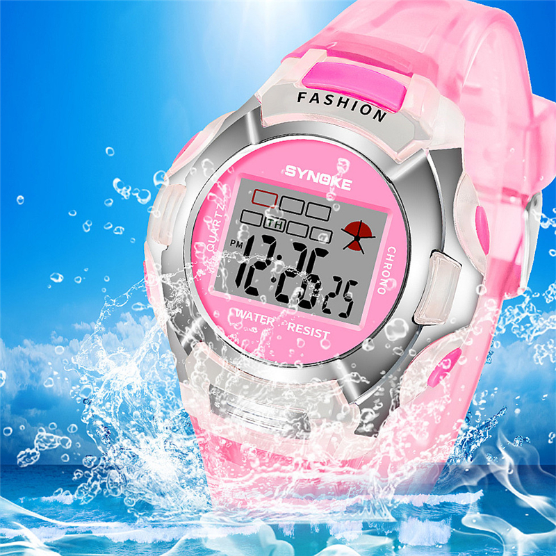 Waterproof Children's Watch Sports School Student Alarm Clock Boy Girl Birthday Christmas Gift Kids Wrist Watches Child Watch G