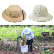 Beekeeping-Hats Anti-Bee-Insect-Bite-Protector Straw-Weaved