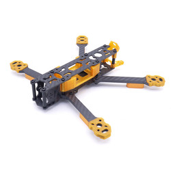 Papilio 5 220mm 5mm Arm Carbon Fiber 5 Inch Racing Frame Kit for Air Unit FPV Racing Drone Multirotor Multicopter RC Parts Accs