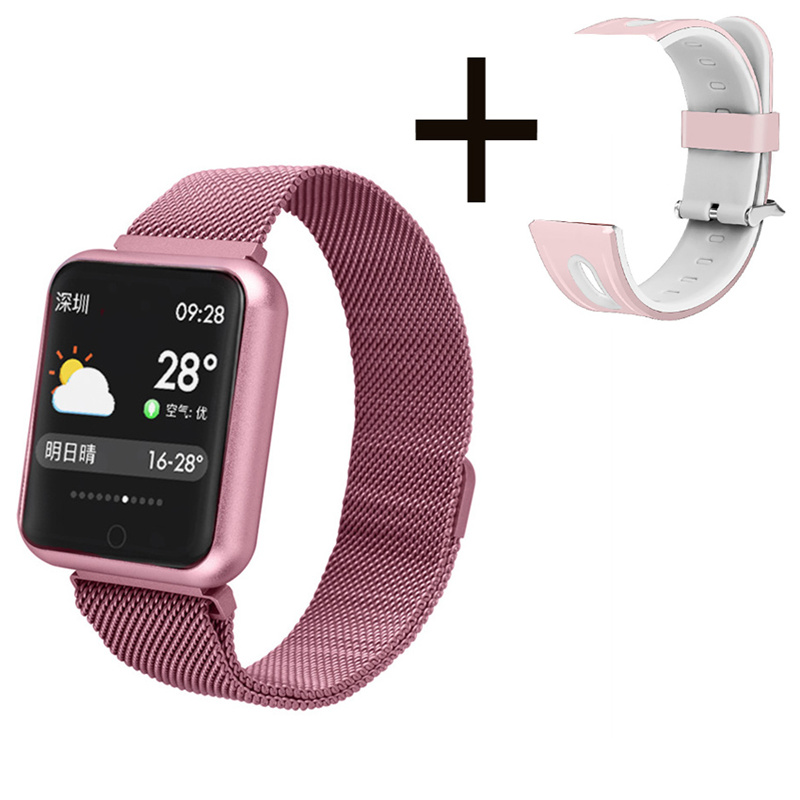 Monitor Smartwatch Bracelet Activity-Tracker Sport-Band Blood-Oxygen Pressure-Heart-Rate title=