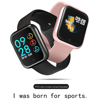2019 Women Waterproof Smart Watch P70 P68 Bluetooth 4.0 Smartwatch For Android Phone Heart Rate Monitor Fitness Tracker