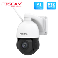 Foscam SD2X 1080P Dual Band WiFi PTZ Outdoor Camera 18X Optical Zoom Built in Microphone Supports 128G Micro SD Card