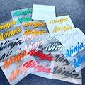 Светоотражающие автомобильные наклейки для мотоцикла, декоративные боковые логотипы топливного бака двигателя, обтекатель, заднее ветров...