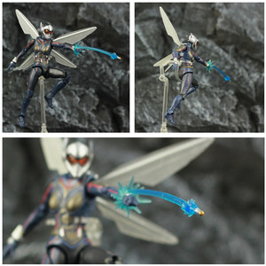 "Image 3 - ハチ 6 ""アクションフィギュアantman 2 アリ男と継続を女性ナディアkoのshf endgame伝説復讐おもちゃ人形"