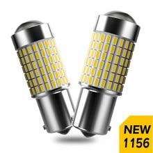 2x p21w led 1156 ba15s 5630 5730 7506 lâmpadas traseira do carro invertendo luz branca dc12v para skoda fabia praktik octavia octavia 1z3 5e3