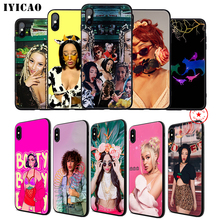 IYICAO Doja Cat Rapper Soft Phone Case for iPhone 11 Pro XR X XS Max 6 6S 7 8 Plus 5 5S SE Silicone TPU 7 Plus iyicao snow mountain soft phone case for iphone 11 pro xr x xs max 6 6s 7 8 plus 5 5s se silicone tpu 7 plus