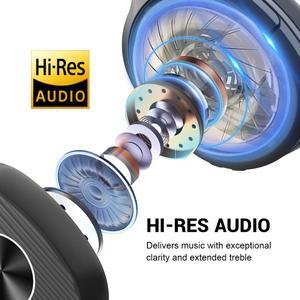 Image 4 - EKSA E5 Bluetooth 5.0 cuffie Wireless 920mAh cuffie con cancellazione attiva del rumore cuffie Over Ear pieghevoli con microfono per telefoni