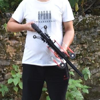 Classic Version Wolf King Powerful Slingshot Rifle Semi-Automatic 40BB Enhanced Edition Slingshot Rifle Sling Bow Traction 2
