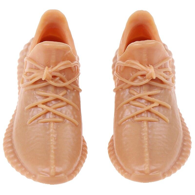 Fashion Men's Dress Shoes Sport Shoes Dollhouse Decoration 1:12 Miniature Dolls Accessories