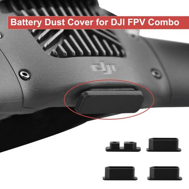 ل DJI FPV كومبو بطارية توصيل خارجي غطاء غبار الجسم الاتصال الغبار التوصيل شحن ميناء حماية منع ماس كهربائى غطاء الملحقات