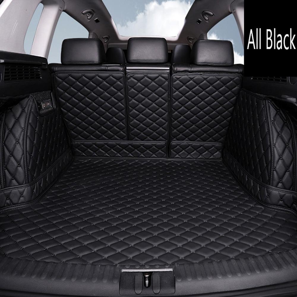 Custom fit car trunk mats for Kia Sorento Sportage Optima K5 Forte Rio/K2 Cerato K3 Cadenza Carens Soul 6D car styling liner|  - title=