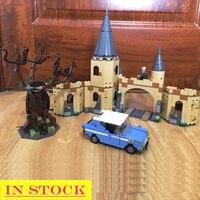 В наличии 11005 Potter Magic World Серия H gwarts Whomping Willow 753 шт. модель строительные блоки кирпичи совместимые 75953 игрушки