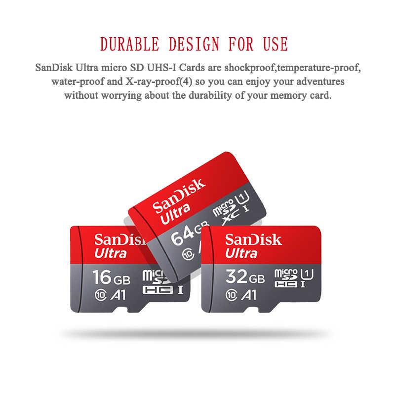SanDisk carte mémoire 256GB 200GB 128GB 64GB 98 mo/s carte Micro sd Class10 32GB 16GB carte flash mémoire carte Microsd SD pour téléphone