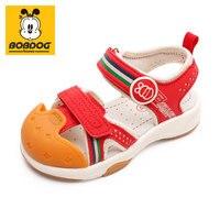 BOBDOG house Kids Shoes non slip soft bottom Baby Sneaker Casual Shoes children's plus size girls boys sports shoes