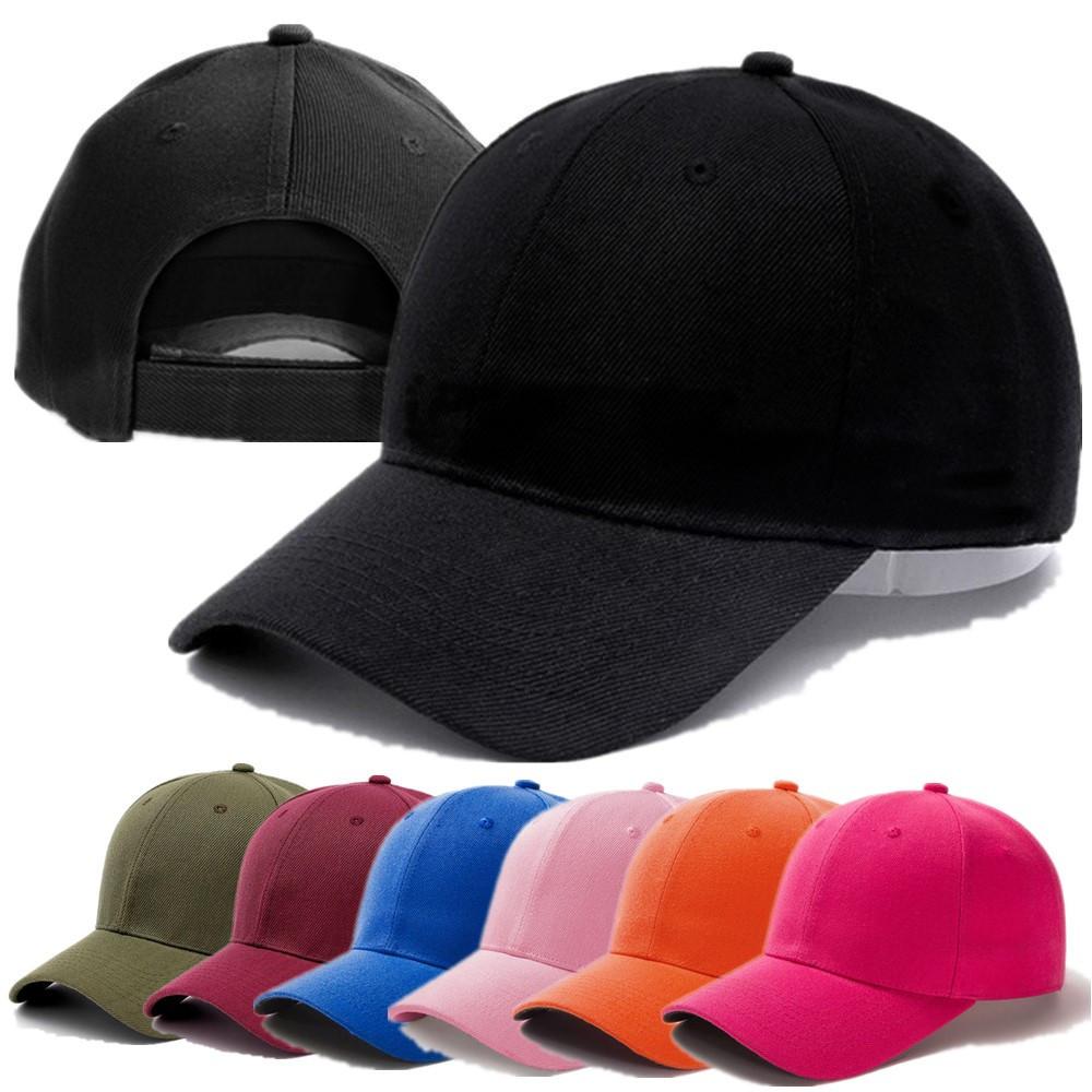 1 Pcs Unisex Cap Casual Plain Acrylic Baseball Cap Adjustable Snapback Hats For Women Men Hip Hop Cap Street Dad Hat Wholesale