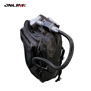 Support after sale service cleaning laser 1000w 50w backpack cleaning machine rust removal(China)