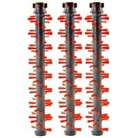 3 saco tapete escova rolo compatível para bissell crosswave 11934 1608017 1785 series aspirador de pó Peças p/ aspirador de pó     -