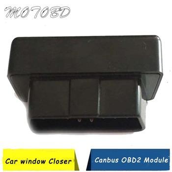 Zamknięcie do okna modułu Canbus dla cadillaca SRX automatyczne zamykanie okna lub okna XTS lustro składane ATS L specjalny podnośnik OBD aKey tanie i dobre opinie CN (pochodzenie) L-SCQ-ATS obd module w black canbus obd Inne Other SRX Automatically Closing v obd module Black obd scanner