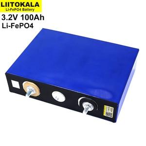 Image 2 - 8 قطعة/الوحدة 3.2V 100Ah بطارية LiFePO4 ليثيوم phospha كبيرة قدرة DIY 12V 24V 48V الكهربائية سيارة RV الشمسية الطاقة تخزين نظام