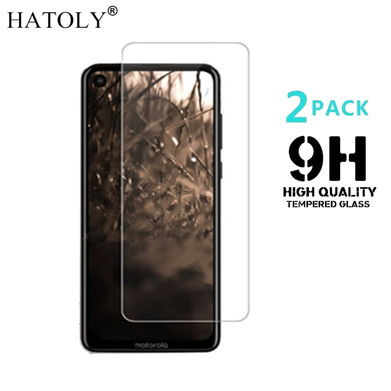 2PCS Tempered Glass For Motorola Moto One Vision Ultra-thin Screen Protector For Moto One Vision Film For Moto P40 Glass HATOLY