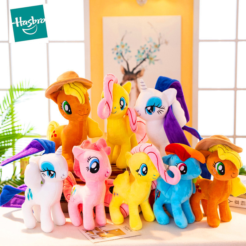 My Little Pony 20cm <font><b>Toy</b></font> Stuffed Pony <font><b>Toy</b></font> Doll Pinkie Pie Rainbow Dash Movie&TV <font><b>Unicorn</b></font> <font><b>Toys</b></font> Friendship Magic Present <font><b>for</b></font> <font><b>Girl</b></font> image