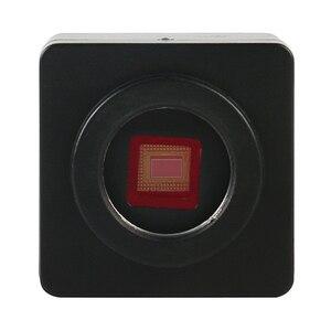 Image 5 - Điện Thoại PCB Hàn Sửa Chữa Phòng Công Nghiệp 7X 45X Simul Tiêu Cự Trinocular Stereo Kính Hiển Vi SONY IMX307 1080P VGA HDMI camera
