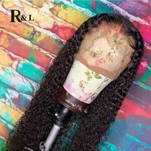 Image 5 - Rulinda peruca cabelo humano frontal, peruca com renda brasileira sem cabelo humano com cabelo bebê 13*4 cabelo remy pré selecionado 130% densidade