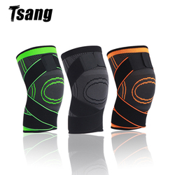 1 Pc Knee Pads Compression Knee Braces for Arthritis Breathable Joint Protect Support Pain Relief Gym Sport Fitness Equipment