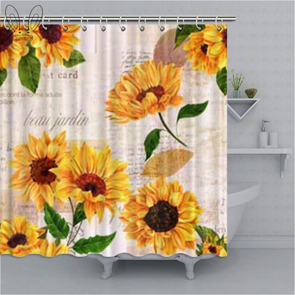 Art Watercolor Sunflower 71 Waterproof