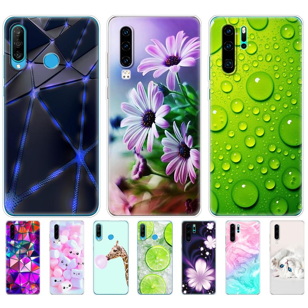 case for Huawei P30 Pro Case Huawei P30Pro Case Silicone TPU Phone Back Cover On Huawei P30 Pro VOG-L29 ELE-L29 P 30 Lite Case