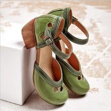 Sandalias planas Retro para mujer, nuevas sandalias de gladiador de verano para mujer, zapatos de talla grande con punta abierta, Estilo Vintage, informales, para mujer