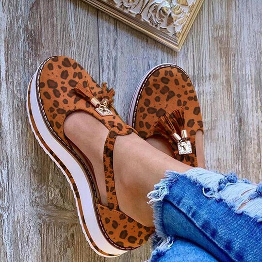 2020 Women Flat Shoes Thick Sole Platform Shoes