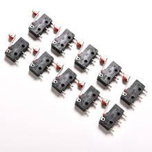 10 adet/grup AC 5A 125V-250V mikro rulo kolu kol normalde açık kapatın Limit anahtarları