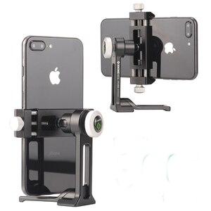 Image 3 - Telefon dağı Tripod adaptörü evrensel dikey braketi SmartPhone klip tutucu iPhone Huawei Xiaomi Samsung