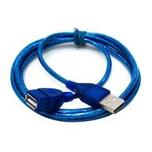 JINCHI 1 м/1,5 м/2 м супер длинный USB 2,0 Мужской к женскому Удлинительный кабель высокоскоростной USB удлинитель передача данных кабель для ПК