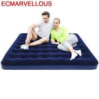 Mobiliário de viagem para la casa letti plegable quarto bett iluminado ao ar livre cama cama de casal Camas     -