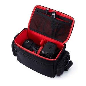 Image 2 - Jealiot מצלמה שקית עמיד למים slr dslr תיק כתף מצלמה דיגיטלית וידאו foto instax תמונה עדשת תיק מקרה עבור Canon 6d Nikon