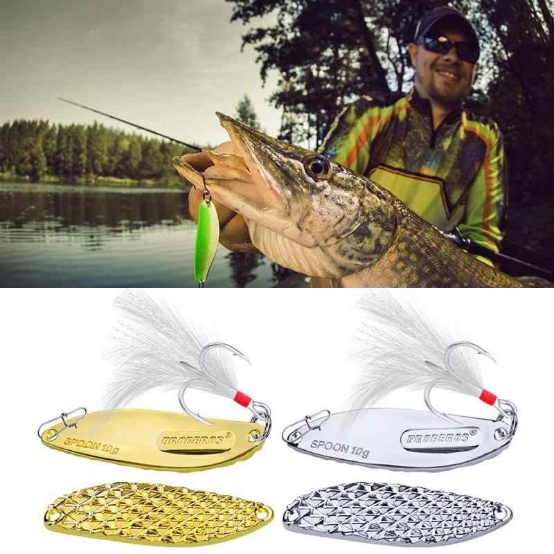 2020 1 adet balıkçılık cazibesi Metal fırıldak kaşık altın gümüş döner sert yemler alabalık Pike Peche tüy tiz kanca olta takımı