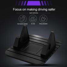 Phone-Stand-Bracket Mobile-Mat Car-Dashboard Car-Mount Non-Slip-Phone for Car-Xiaomi-Holder/silicone