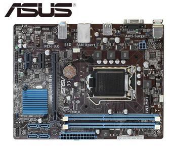 ASUS H61M-E original motherboard   DDR3 LGA 1155 USB2.0 for I3 I5 I7 CPU 16GB H61 USED Desktop motherboard