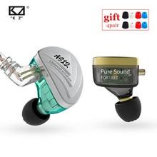 KZ AS12 12BA 밸런스드 아마츄어 드라이브 이어폰 HIFI 스포츠 모니터 헤드셋 소음 차단 이어 버드 이어폰 AS16 AS10 ZSX